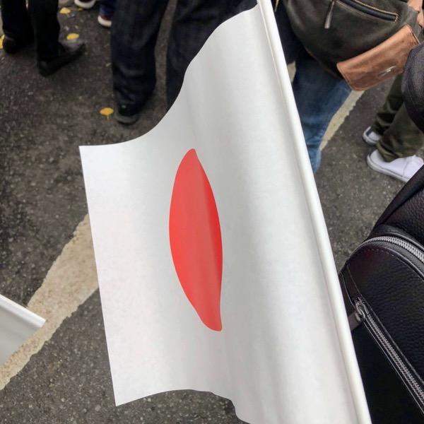 一般参賀でもらえる国旗