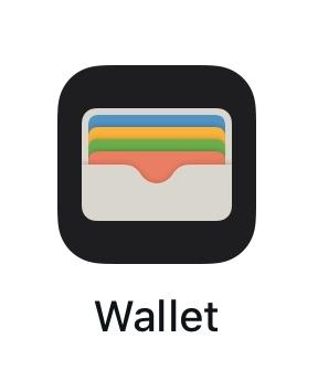 iPhoneのWalletアプリ